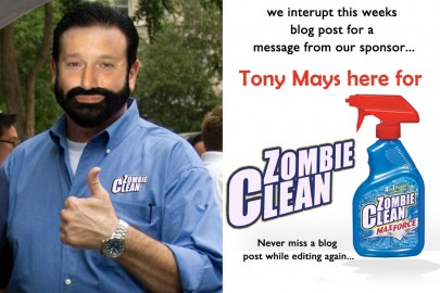 Tony Mays for Zombie Clean